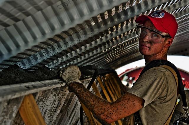 Construction Worker Concrete
